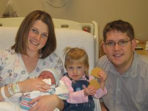 Nathan, Kaisa, Everett & I