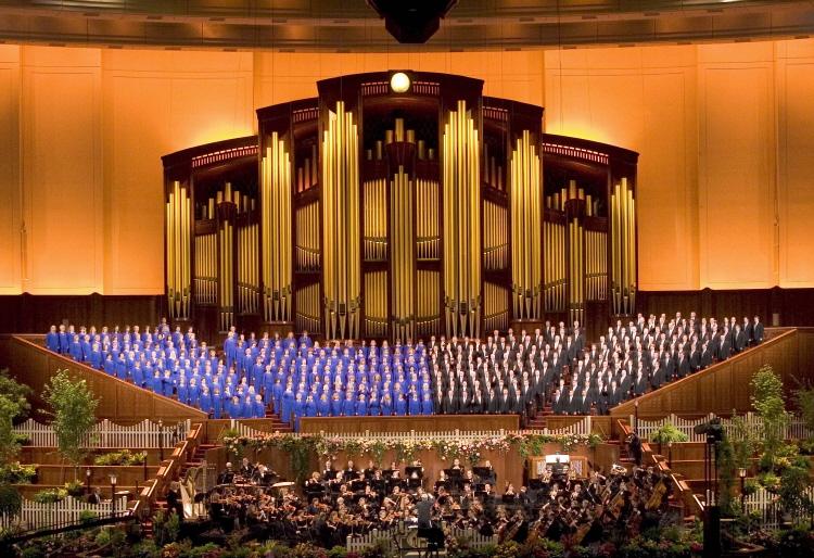 mormon tabernacle choir schedule